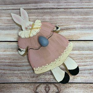 💌5/$30💌 Easter Bunny in Dress with Easter Egg